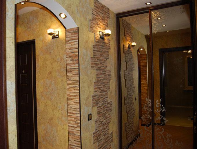 Фото ремонта прихожих коридоров